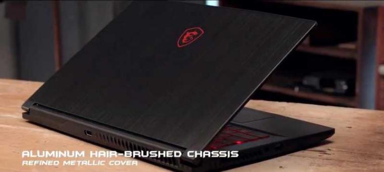 "Kekuatan dari Notebook Gaming Ramping GF63 15.6"" dengan Bezel Tipis"
