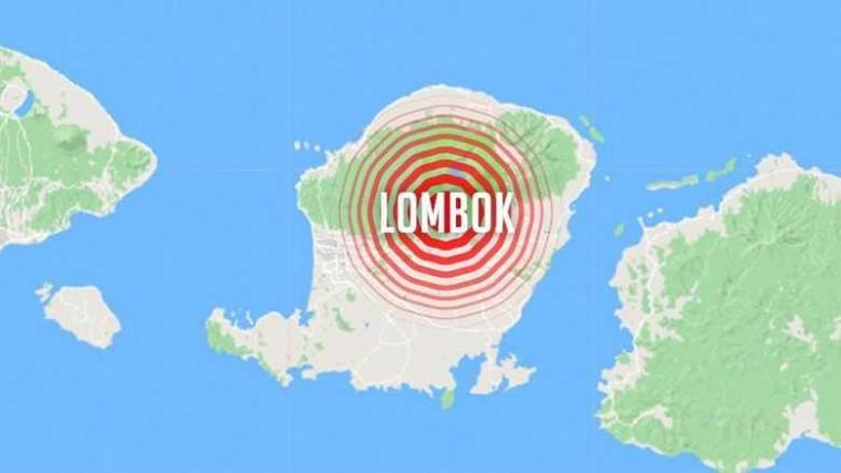 Ketika Gempa Mengguncang Lombok