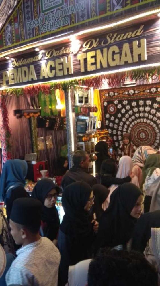 Kerawang Gayo Jadi Primadona di Aceh Expo 2018