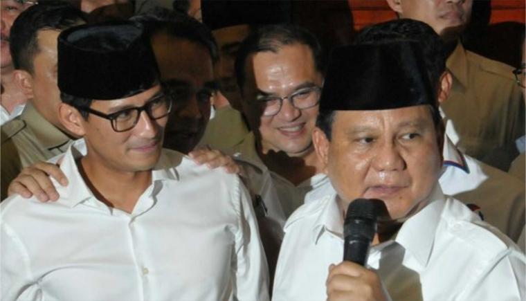 Prabowo-Sandiaga, Tujuan dan Pilihan