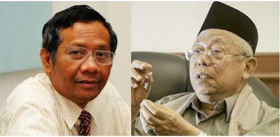 Mengapa Ma'aruf Amin dan Bukan Mahfud MD?