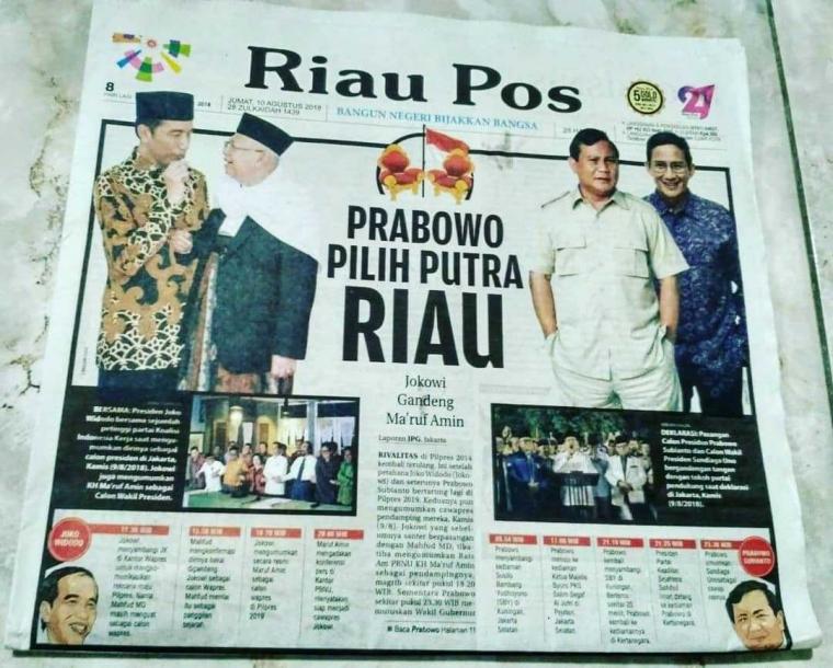 "Sandiaga Uno, ""Jalan Tengah"" dari Sumatera Tengah"