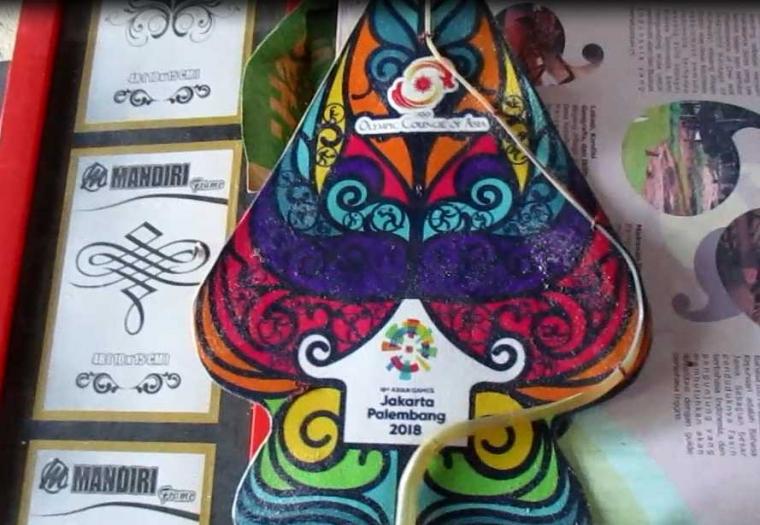 Semangat dari Kampung Wayang Kepuhsari, Tempat Pembuatan Souvenir Asian Games