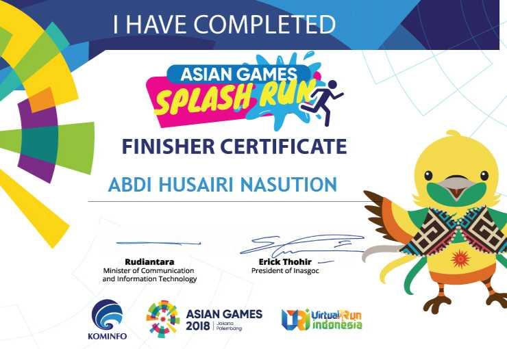 Menjadi Atlet Dadakan Menyambut Asian Games 2018