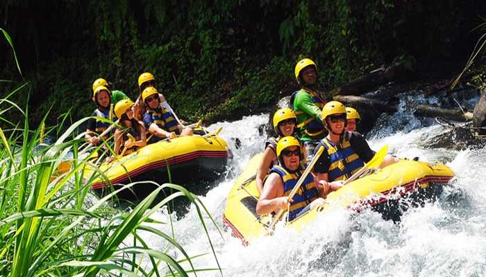 Rafting Telaga Waja Bali derasnya air penguji adrenaline