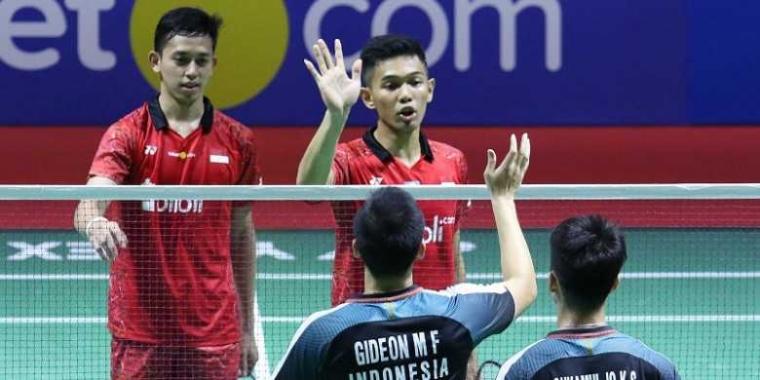 """All Indonesian Final, Bukti Ganda Putra Indonesia Konsisten """"Selangkah di Depan"""""""