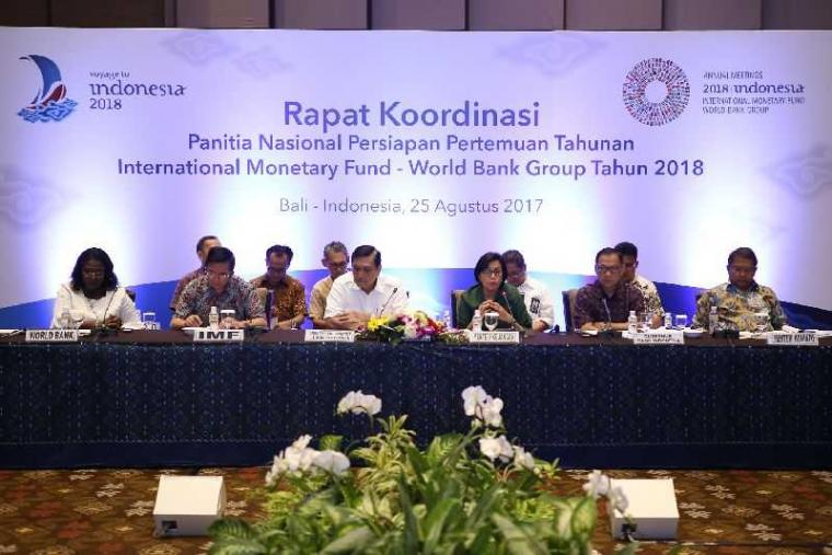 Hasil gambar untuk pertemuan imf-wb 2018 jadikan indonesia pusat perhatian