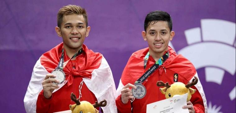 "Fajri ""Meledak"", Final Ganda Putra Asian Games Bakal Sering 'Terulang'"