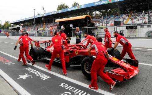 F1  Italia di Sirkuit Monza, Persaingan Hamilton dan Vettel