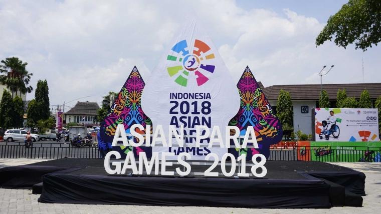 Kirab Obor Asian Para Games 2018