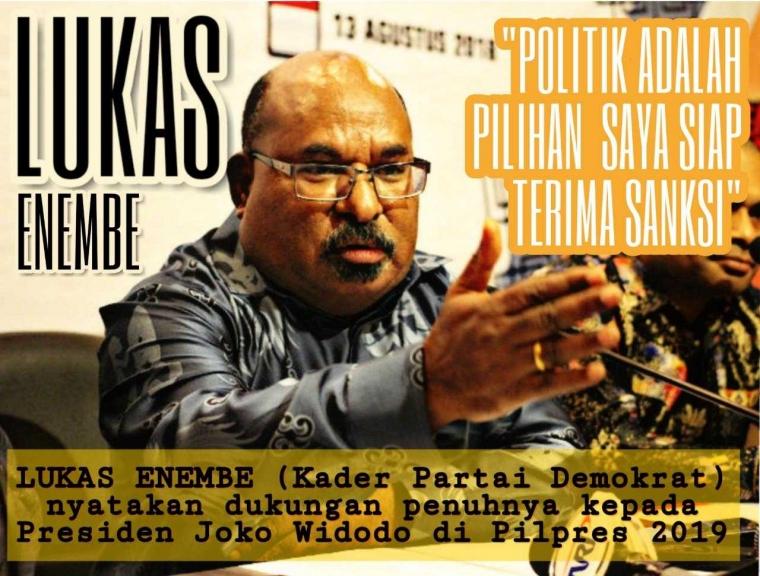 Gubernur dan Bupati di Papua Mendukung Total Jokowi 2 Periode