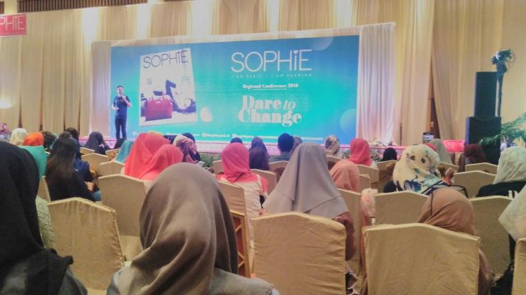 CEO Sophie Paris Indonesia, Bruno Hasson Motivasi Warga Makassar Berpikir Sukses