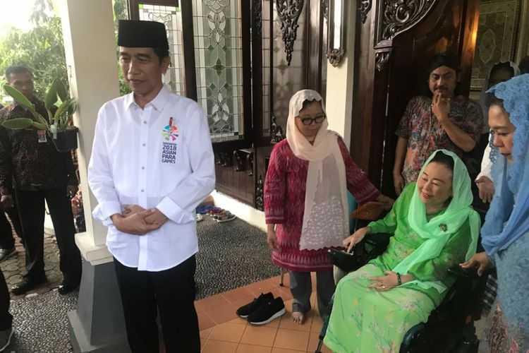 Menebak Arah Dukungan Keluarga Gus Dur Usai Dikunjungi Jokowi dan Sandiaga