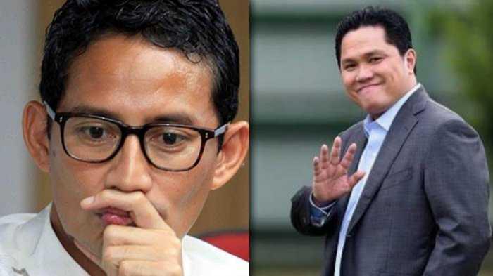 Prabowo Pilih Uang, Erick Thohir Pilih Menantang