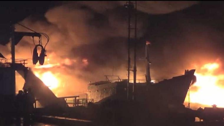 KM Terbakar, 8 Orang Tewas di Perairan Banggai Laut