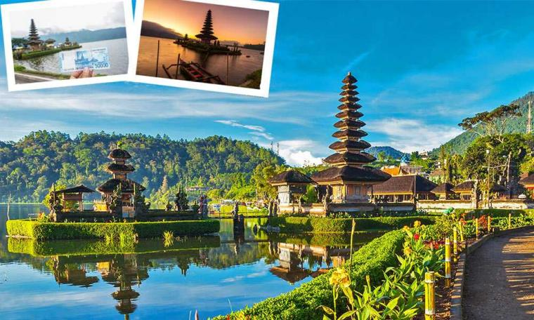 Berkunjung dan Menikmati Sunset di Pura Ulun Danu Beratan Bali