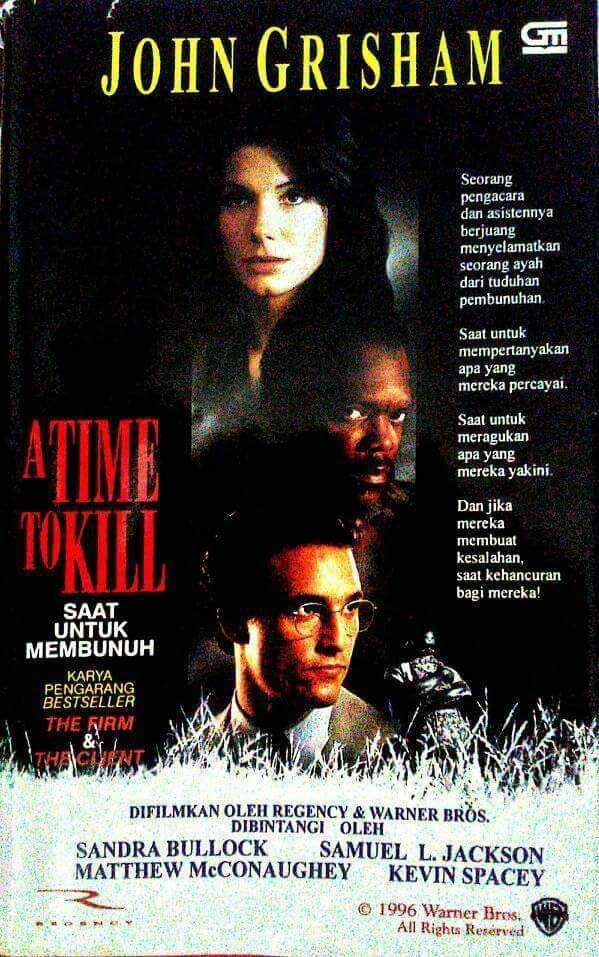 "Sinopsis ""A Time to Kill"", Kebenaran adalah Campuran Adil dan Batil dalam Takaran yang Pas"
