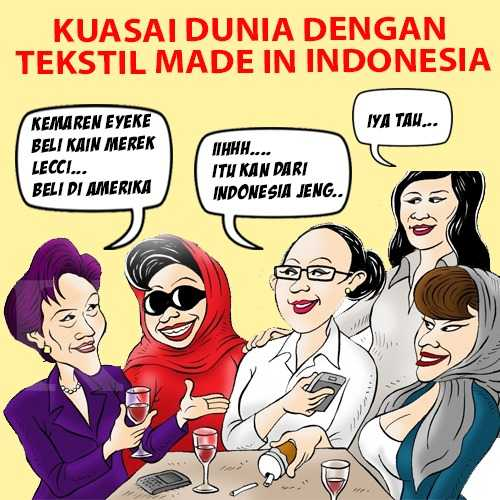 """Kuasai Dunia dengan Tekstil """"Made in Indonesia"""""""