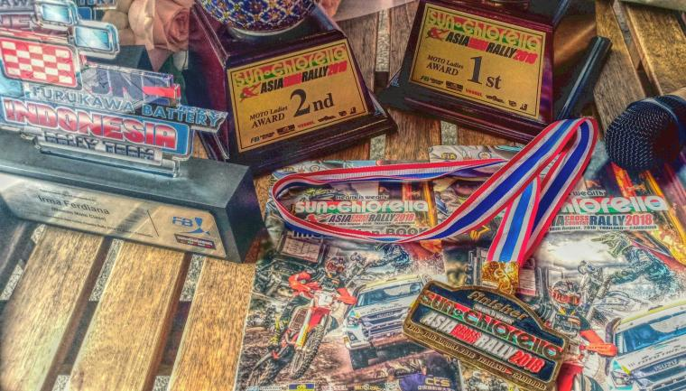 Tim Indonesia Raih Juara Rally Level Internasional di Ajang Asia Cross Country Rally 2018