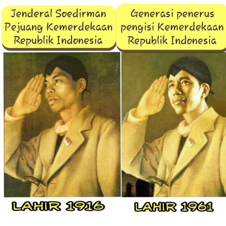 Satu Kesamaan Jokowi Dan Jenderal Soedirman