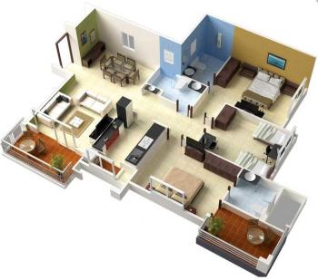 Hitungan Biaya Membangun Rumah 3 Kamar Tidur Lantai 1