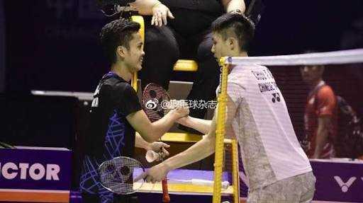 """""""Giant Killer"""" Ginting Melangkah ke Final China Open 2018"""