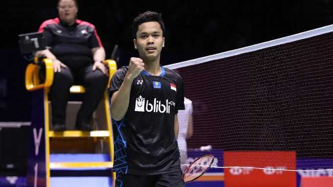 Anthony Ginting, Satu-satunya Wakil Indonesia di Final China Open