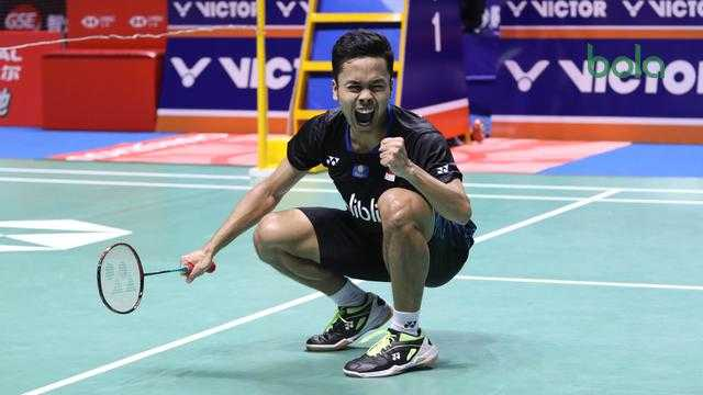Anthony Ginting Juarai China Open 2018 Usai Kalahkan Momota