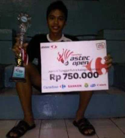Anthony Ginting, dari Rp 750.000 ke US$ 70.000