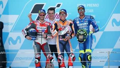 Marquez Jinakkan MotoGP Aragon 2018