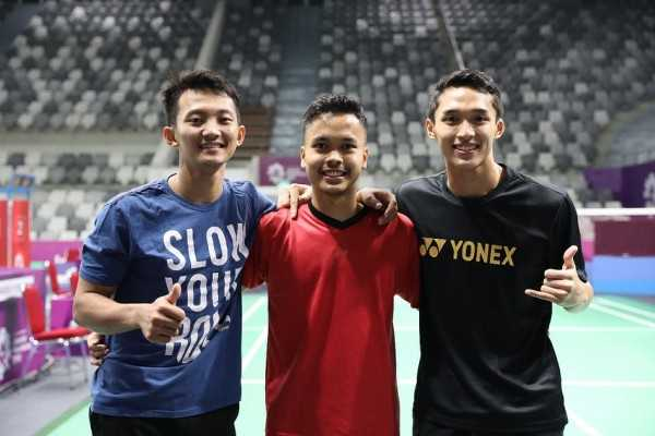 """Reuni"" Tiga Sahabat di Korea Open 2018"