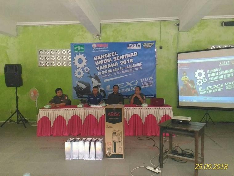 Sisi Lain Seminar Yamaha 2018 di Ajibarang