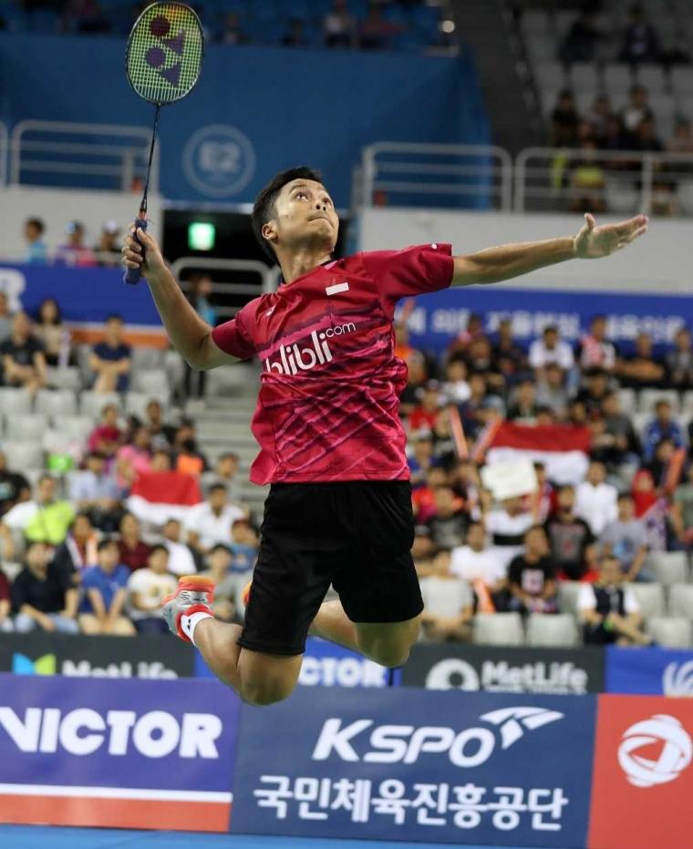 Ini Calon Pesaing Anthony Ginting di Victor Korea Open 2018