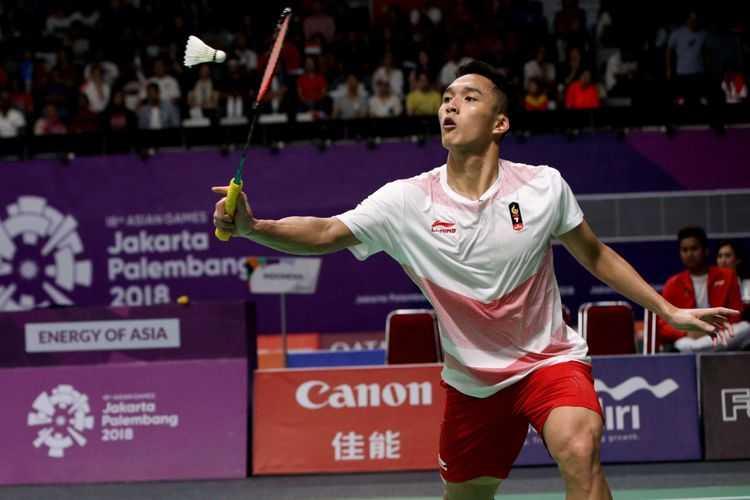 """Sekotak Cokelat"" untuk Jonatan Christie di Perempat Final Korea Open"