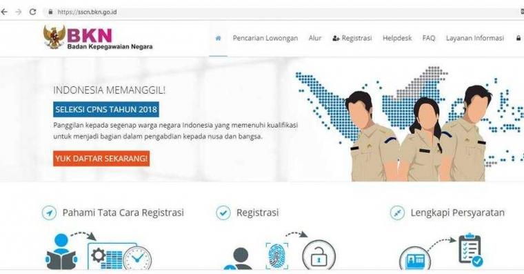 Trik Cepat Mendaftar CPNS di Situs SSCN
