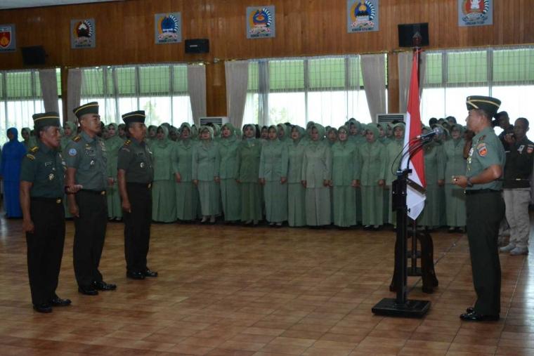 Pangdam IV/Diponegoro: Kenaikan Pangkat Sumber Motivasi dan Inspirasi untuk Memantapkan Kejuangan