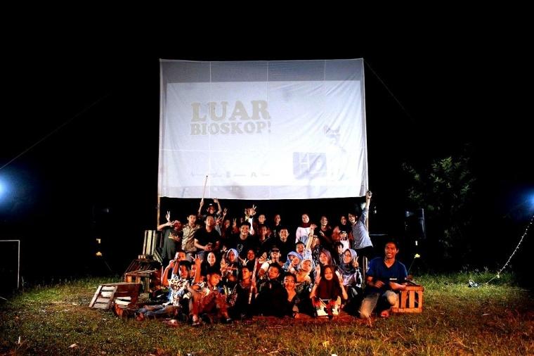 """Freeaktivitas Menggelar """"Luar Bioskop"""" di 10 Desa di Bogor"""