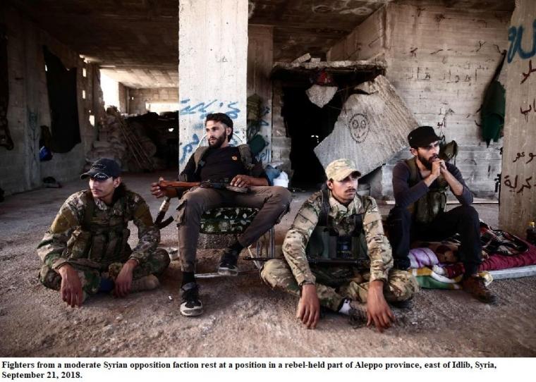 Pemain di Belakang Layar Serangan ke Provinsi Idlib untuk Mengakhiri Perang Sipil Suriah