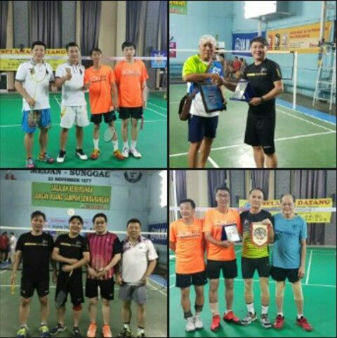 SBS Badminton Team Penang Petik Pengalaman Berharga Di Medan