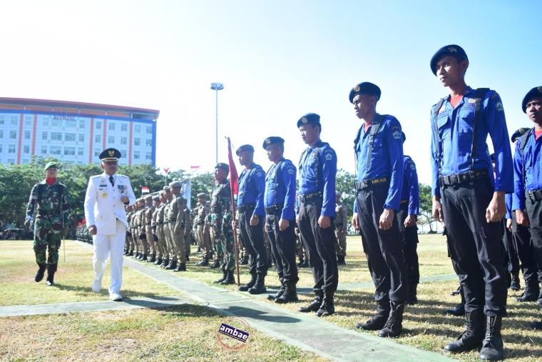 HUT TNI ke-73, Danrem 141 Pusatkan di Bantaeng