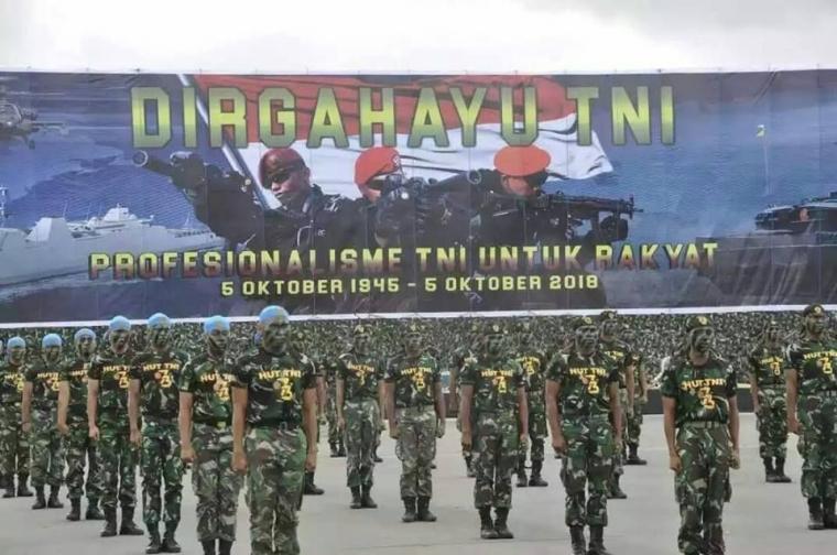 Dirgahayu TNI Ke-73 Tahun