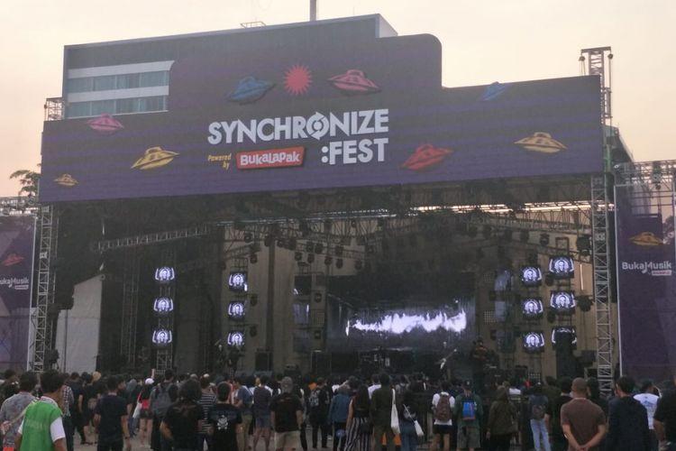 Mereka yang Tampil di Hari Kedua Synchronize Fest 2018