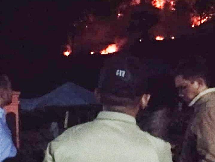 Hutan Gunung Loka Terbakar, Bikin Adrenalin Ilham Azikin Meninggi