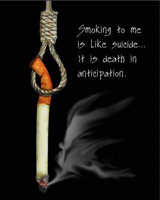 Kumus-kumus Asap Rokok Sebagai Racun Hidup