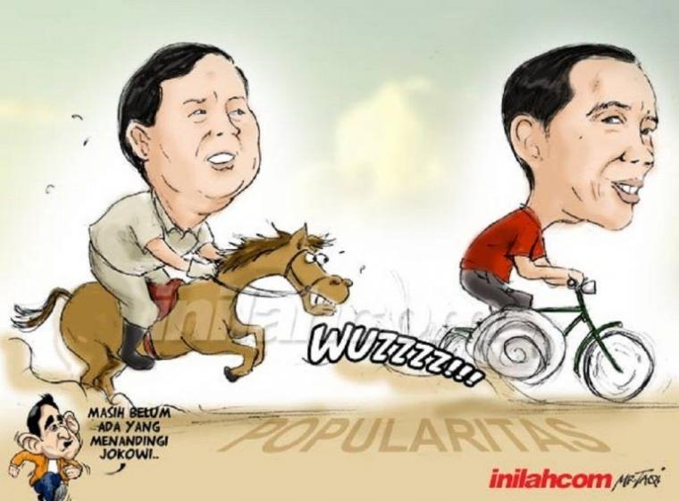Pengaruh Hoaks Ratna Sarumpaet terhadap Elektabilitas Capres Joko Widodo dan Prabowo Subianto