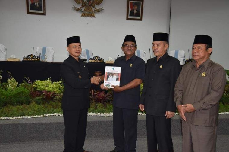 Wakil Bupati Bangka Sampaikan RPJMD 5 Tahun