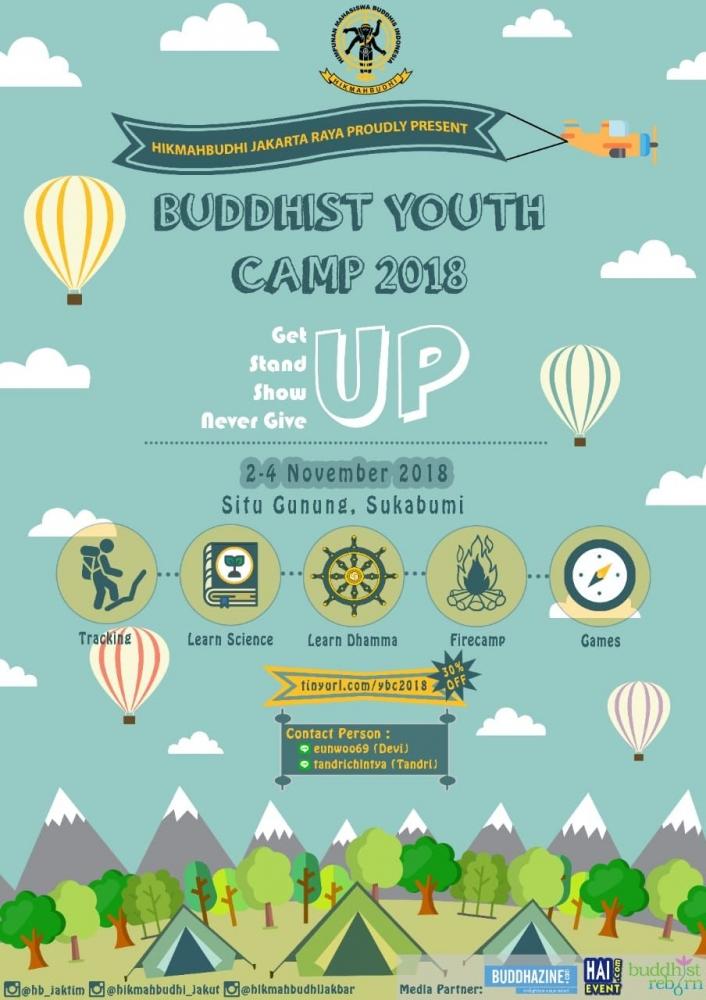 HIKMAHBUDHI Jakarta Raya Siap Adakan Buddhist Youth Camp