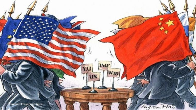 Siapakah yang Akan Lebih Bertahan dalam Perang Dagang AS-Tiongkok?