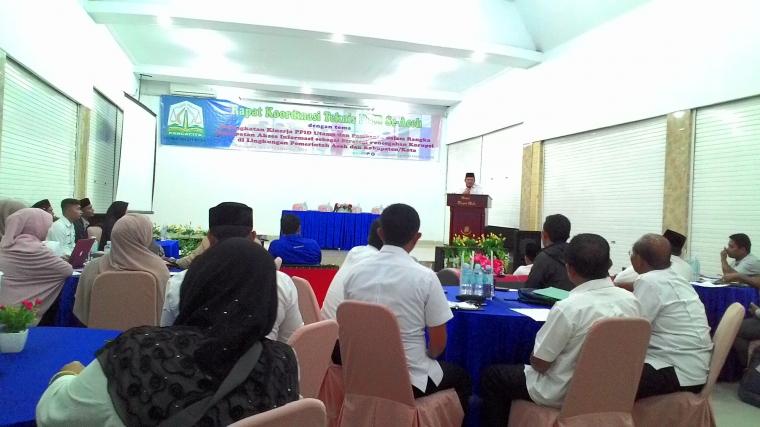 Optimalkan Pelayanan Informasi Publik lewat Rakornis PPID Aceh
