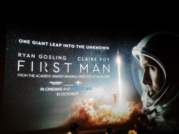 First Man, Astronot Juga Manusia Biasa
